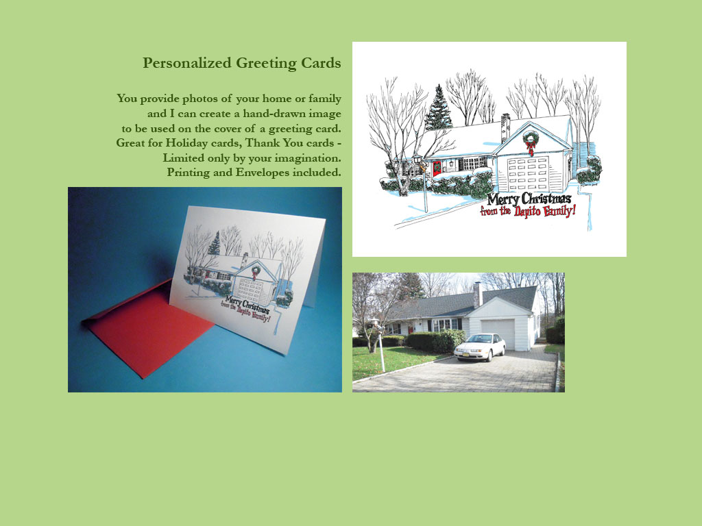 Norman Dapito Personalized Greeting Cards